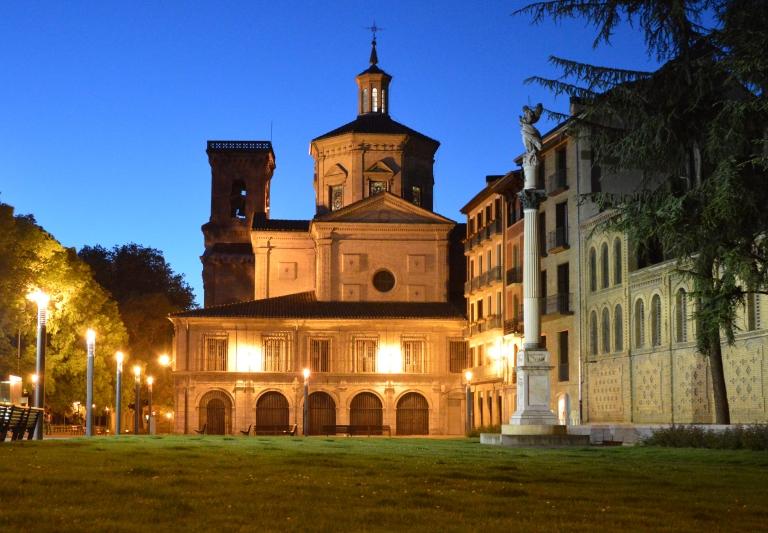 San Lorenzo at dusk 4-2015