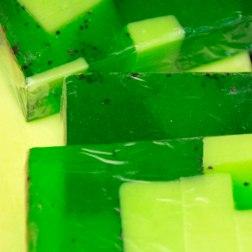 colourful soap