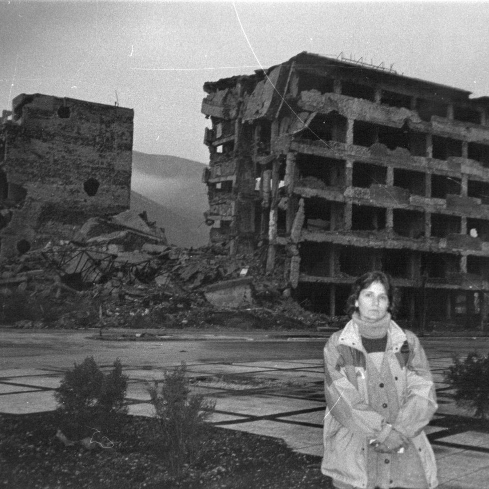 Me in Mostar during the war